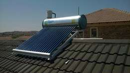 Low pressure solar geyser special from R5000 fully installed
