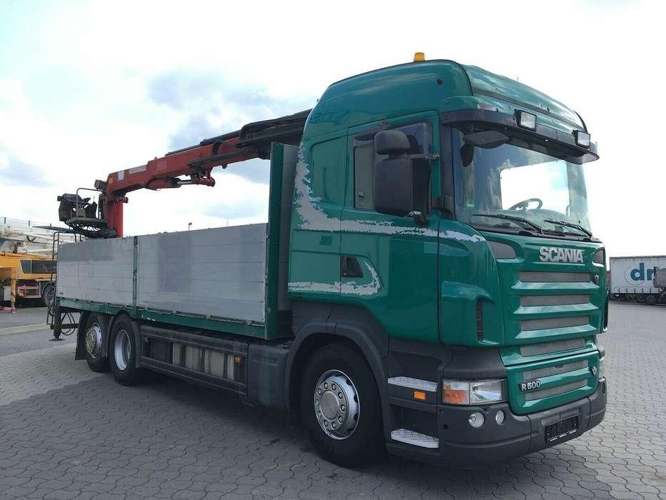 Scania R500 6x2 HMF 2000 L2 Baustoff Greiferleitung V8 - 2007 - image 10