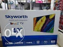 Skyworth 40 inch LED Full HD digital TV. pay on Delivery