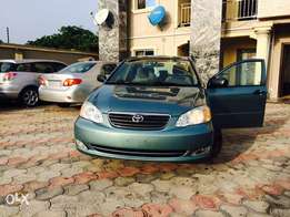 Just in from Canada Tokunbo Toyota Corolla LE 2006 model available for
