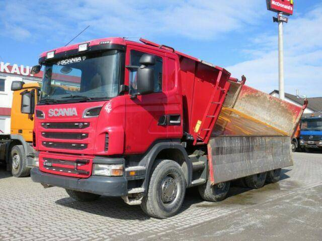 Scania G 420 8x4 4 Achs Kipper Bordmatik - 2012