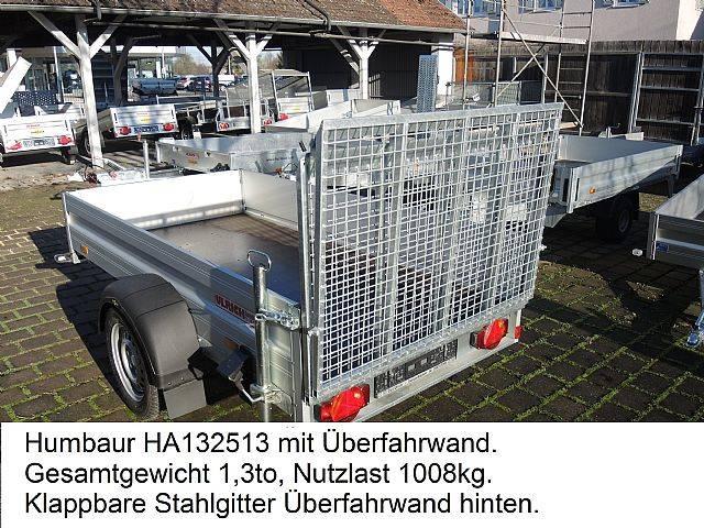 Humbaur HA132513 ÜFW Einachsanhänger Überfahrwand