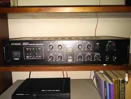 DXon very powerfull house sound system and dvd all remotes