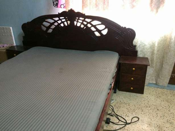 5:6 hard wood bed Nyali - image 1