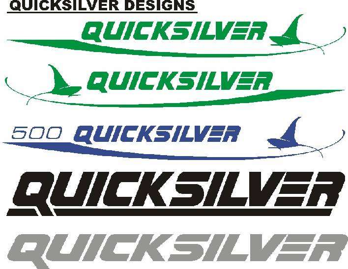 Quicksilver decals graphics stickers - Boats & Aviation - 1057217086
