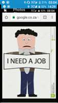 I'm desperately looking for a job