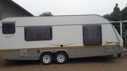 fairly used 2008 explicit caravan for sale