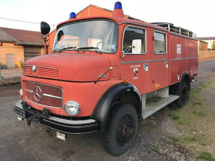 Mercedes-Benz 1113 Turbo 160 PS! 4x4 Feuerwehr kein 911 - 1971