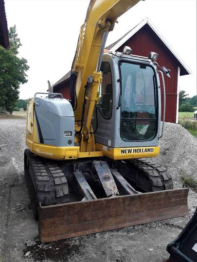 New Holland Kobelco E70b Sr - 2008