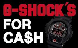 ***WANTED*** Casio G-Shocks, New, Old, Vintage - Cash Paid for Digital