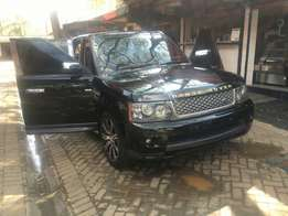 Clean twin turbo Diesel range sport up from grabs