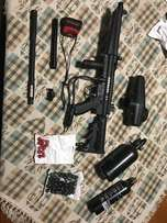 Tippmann A5 with e-trigger and accessories