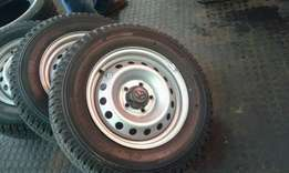 Brand New Steel Rims for Toyota Hilux