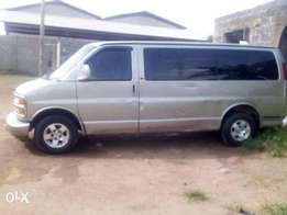 foreign used Multipurpose Chevrolet Bus for sale