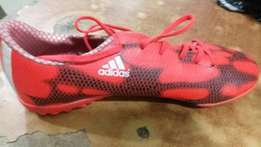 Training adidas soccer canvas boot