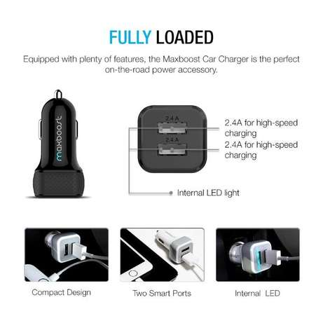 Car Charger Smart Port Car Charge r [Black] Nairobi West - image 5