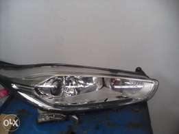 Ford fiesta at right front head light