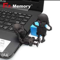 Black Skull skeleton usb 32g