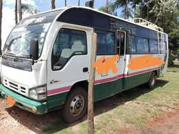 Isuzu 33 seater bus