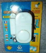 Security wireless alarm system portable and easily fixed on your door