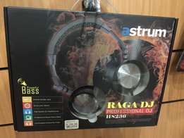 new Astrum raga DG professional headphones.