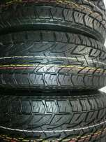 Bridgestone dueler tyres four (4) new 265/65R17.