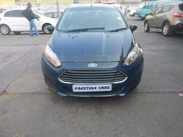 ford fiesta 1.4 hb 2014 model blue colour
