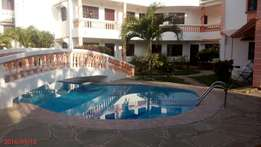 Nyali fully furnished bedsita with swimming pool and beautiful garden