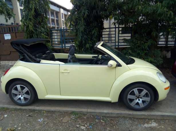 2006 Used Volkswagen Beetle Convertible for sale... Lugbe - image 3