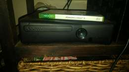 Xbox 360 with remotes