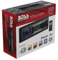 BOSS Audio 616UAB Single Din, Bluetooth, MP3/USB/SD AM/FM Car Stereo,