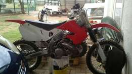 Honda Cr250 with gear for sale