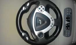 Ps3/PS2/PC steering wheel for sale 150
