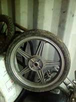 18inch rear rim/bigboy/sukida R500 at clives bikes