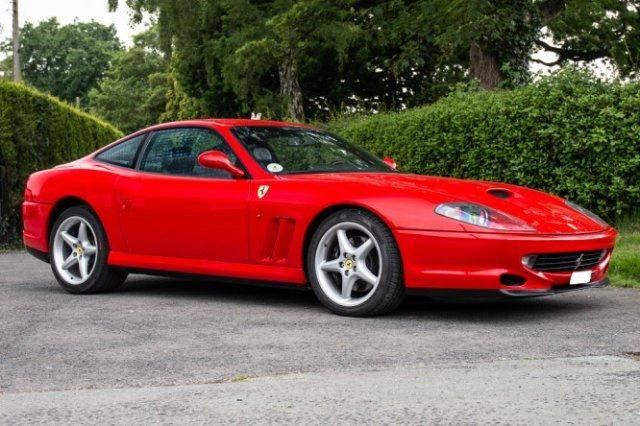 Ferrari 550 maranello 550 maranello scheckheftgepflegt - 1997