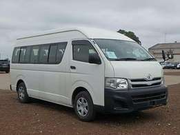 Toyota Hiace commuter (18 seater)