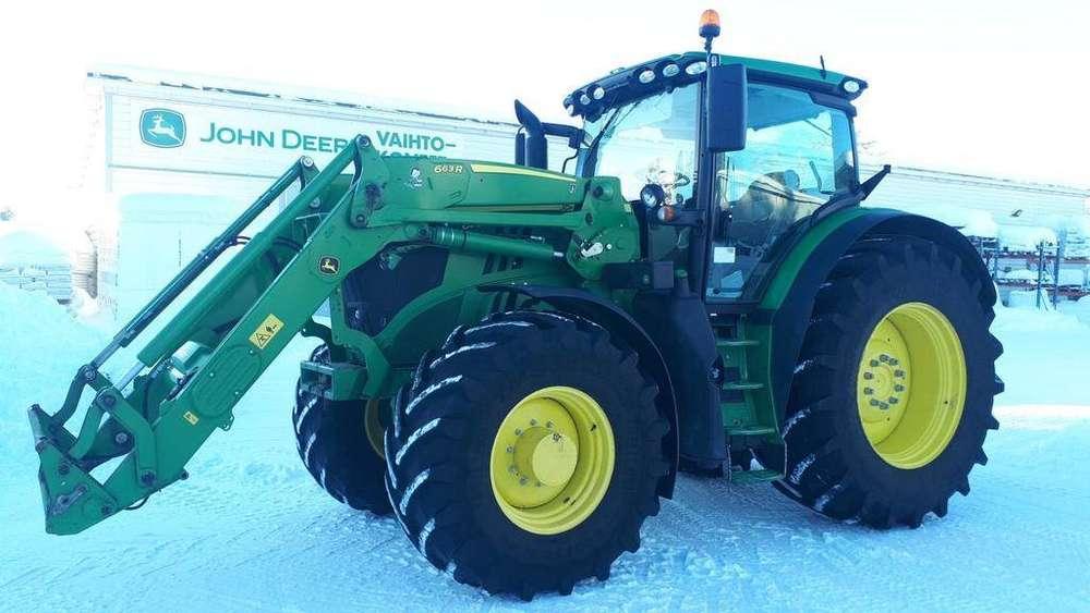 John Deere 6215r Traktori - 2016