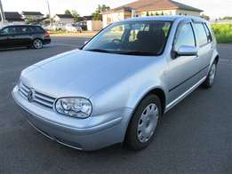 2002 silver vw golf 4, 1.6 automatic for sale