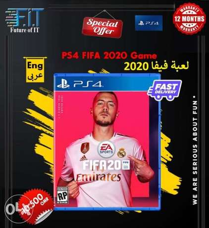 Ps4 Fifa 2020 game