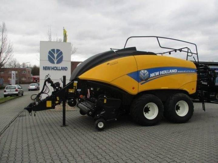 New Holland bb 1270 plus cropcutter - 2017