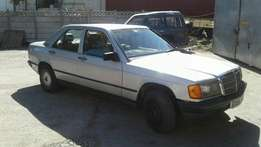 merc 190e auto very good runner