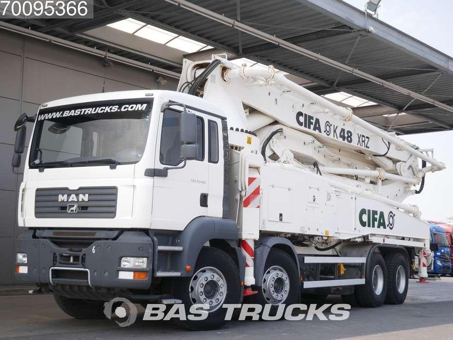 TGA 41.430 M 8X4 Manaul Steel-Suspension Euro 3 - 2009