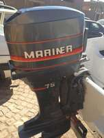 2x 75 Mariner Engines for sale