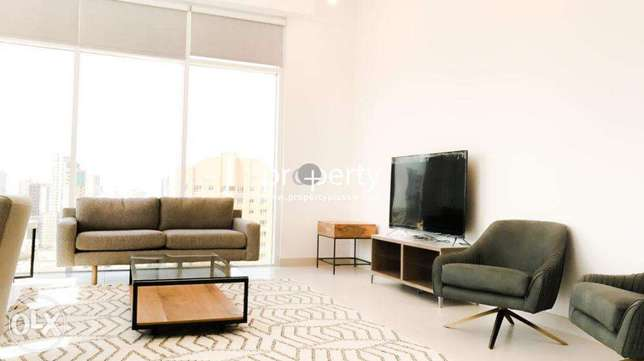Fully furnished two bedroom for rent close to Kuwait City بنيد القار -  2