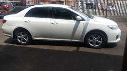 2012 Toyota Corolla 1.4 Professional cars for sell in South Africa