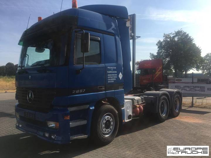 Mercedes-Benz Actros 2657 Manual - F04 cab - Retarder - Airco - 2002