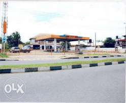 A functioning filling station located at number 200a Abak road Uyo, Ak