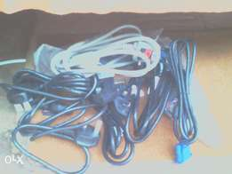 VGA and Power cables
