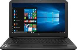 hp laptop working perfect 500gb with 2 ram