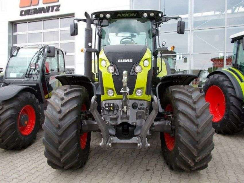 Claas Traktor Axion 810 Cis - 2014 - image 2